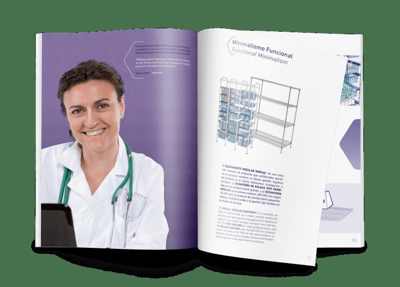 Catálogo de productos para Medical Modular System 1
