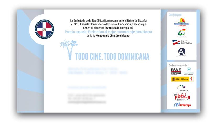 "Diseño de materiales para el Festival de cine ""TC TD"" 1"