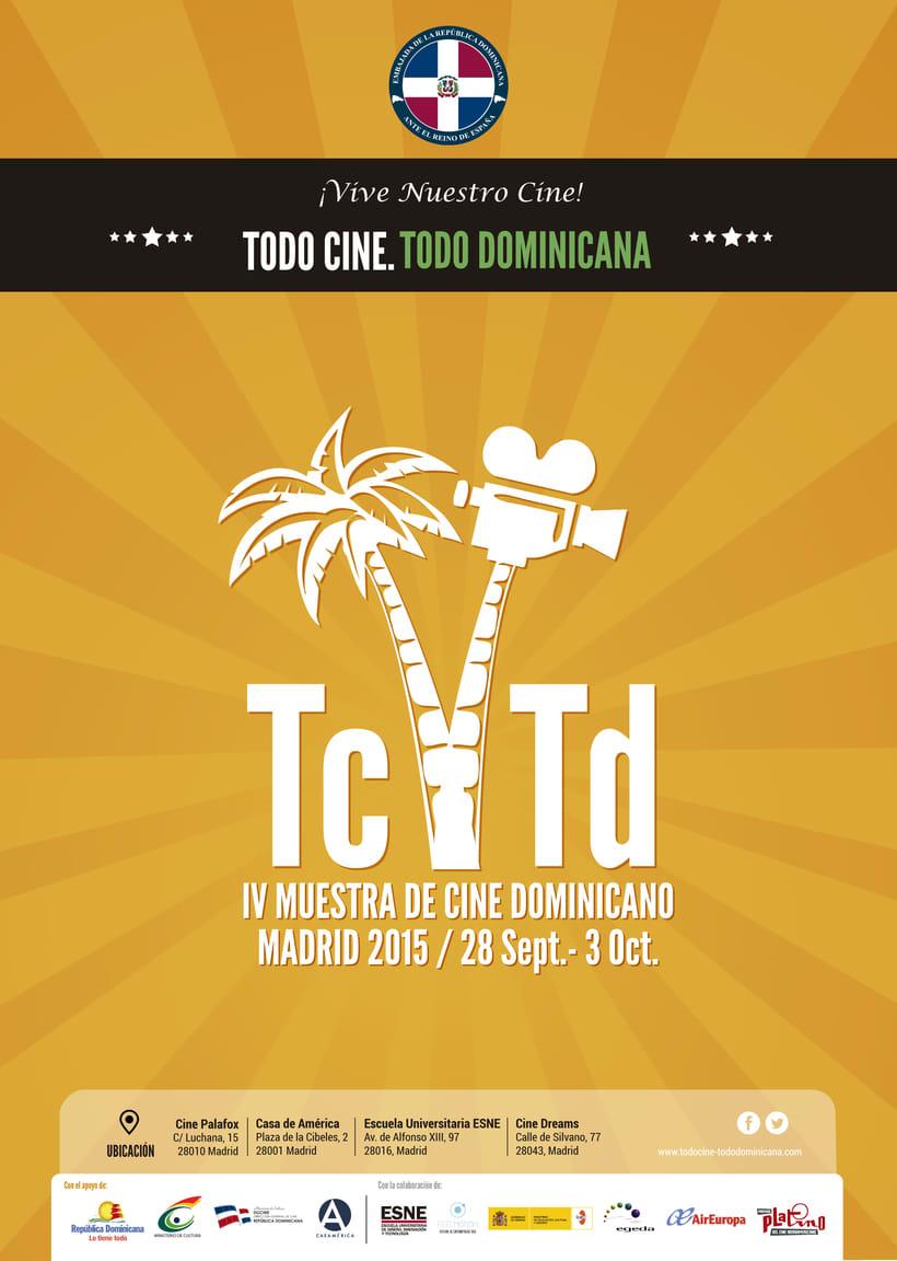 "Diseño de materiales para el Festival de cine ""TC TD"" 0"