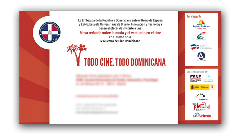 "Diseño de materiales para el Festival de cine ""TC TD"" 3"