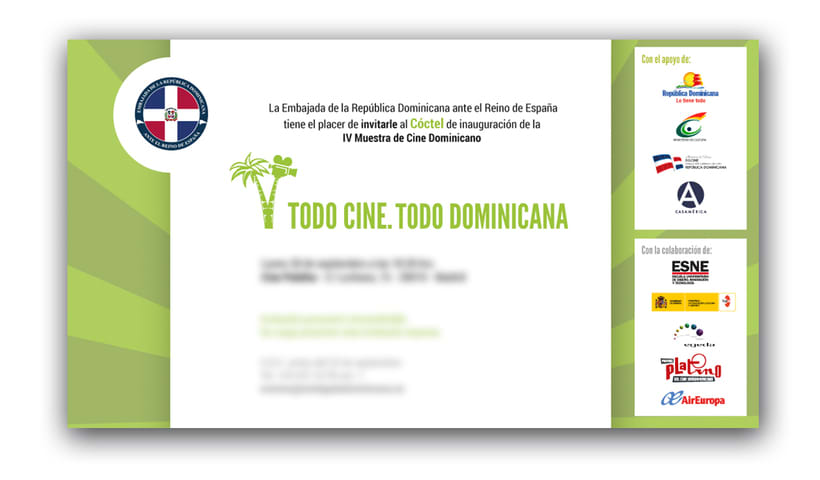 "Diseño de materiales para el Festival de cine ""TC TD"" 4"