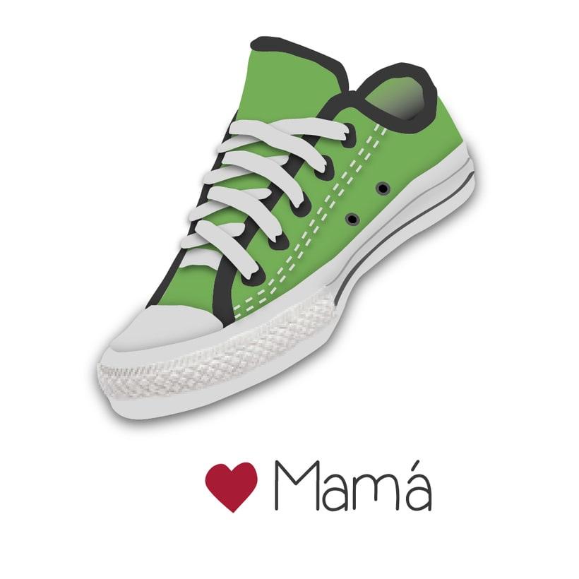 "Ilustraciones ""La familia zapatillas"" 2"