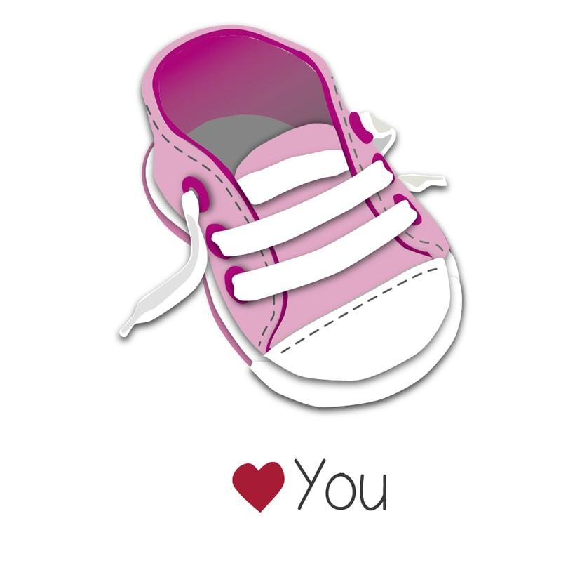 "Ilustraciones ""La familia zapatillas"" 3"