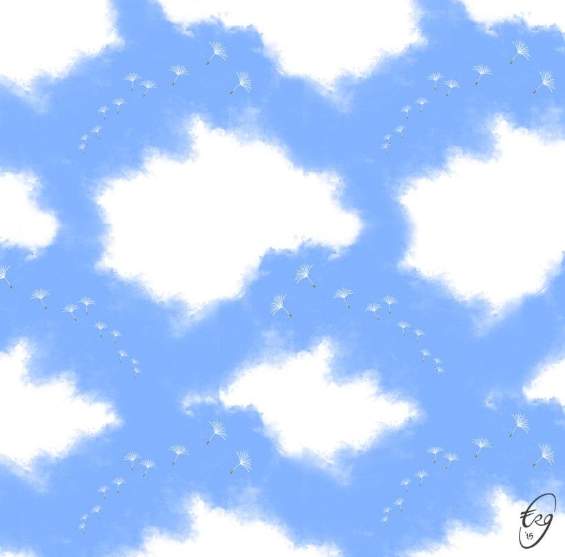 Patrón de nubes 0