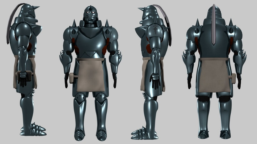 Alphonse Elric - Full Metal Alchemist -1