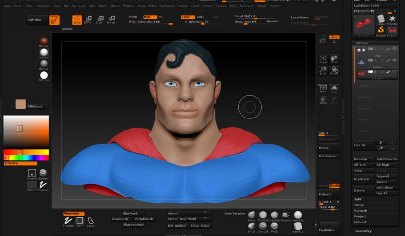 Mi Proyecto del curso Modelado de personajes en 3D 4