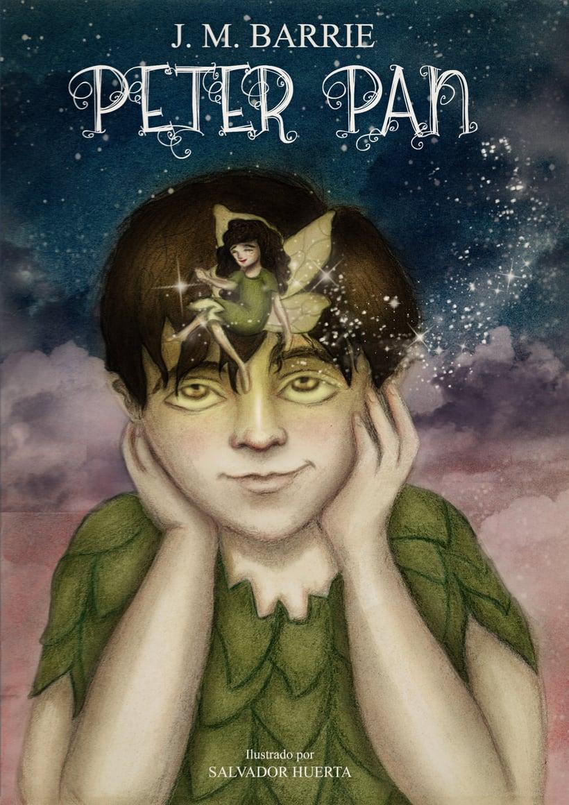 """Proyecto final de Ilustración """" Peter Pan"""" 0"""
