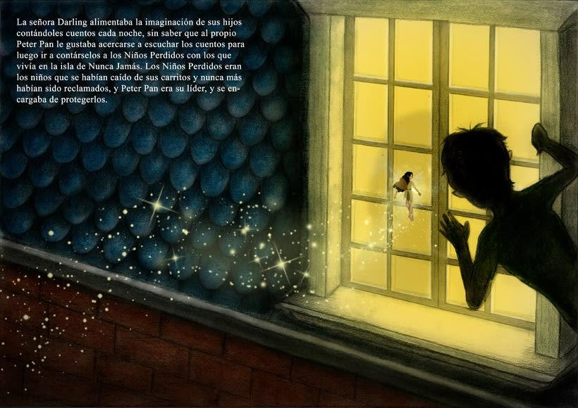 """Proyecto final de Ilustración """" Peter Pan"""" 2"""