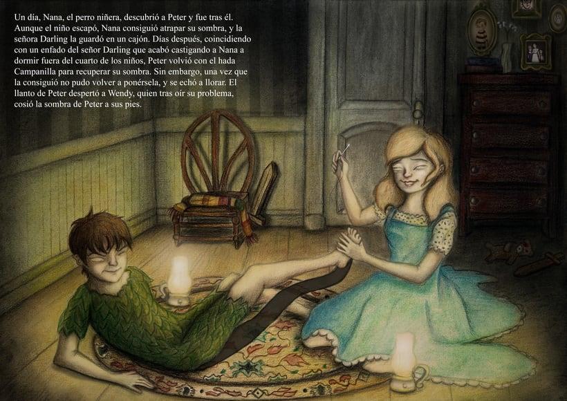 """Proyecto final de Ilustración """" Peter Pan"""" 3"""