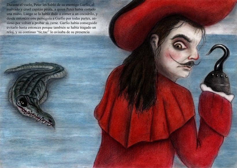 """Proyecto final de Ilustración """" Peter Pan"""" 5"""