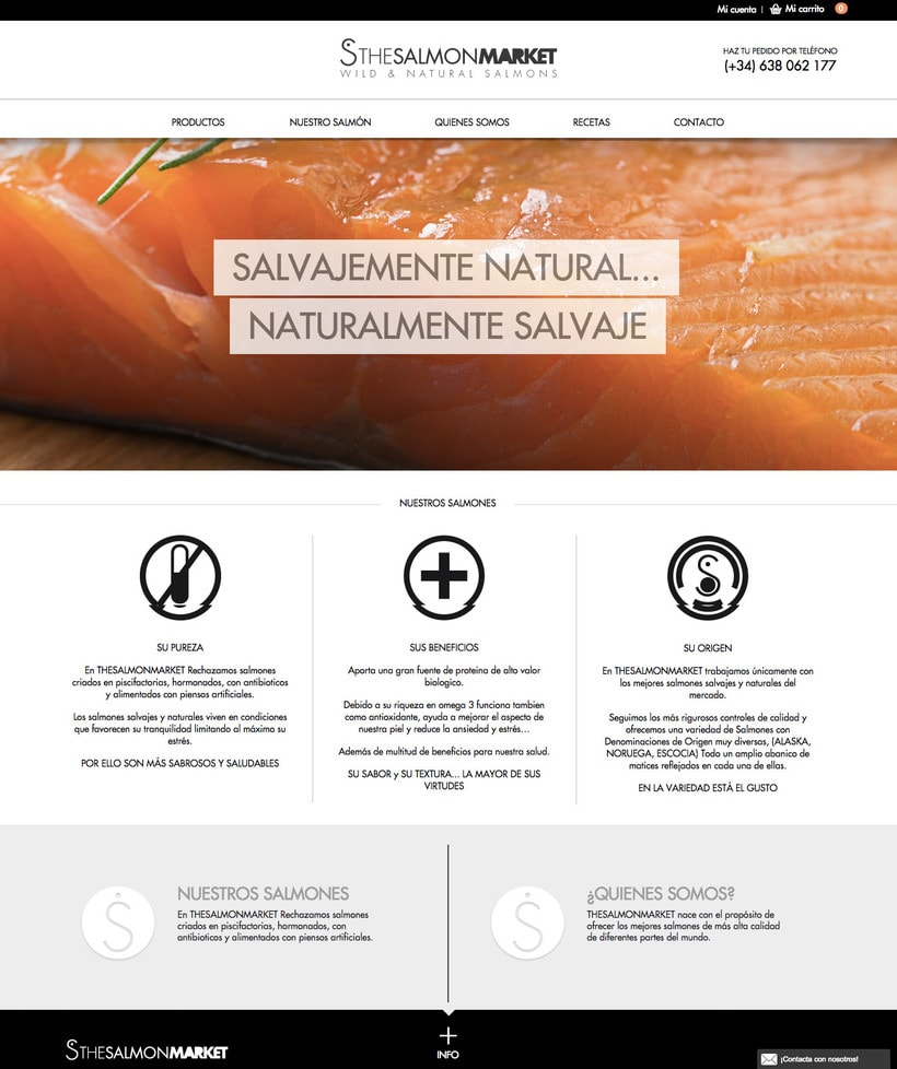 ID corporativa / Tienda online The Salmon Market 2