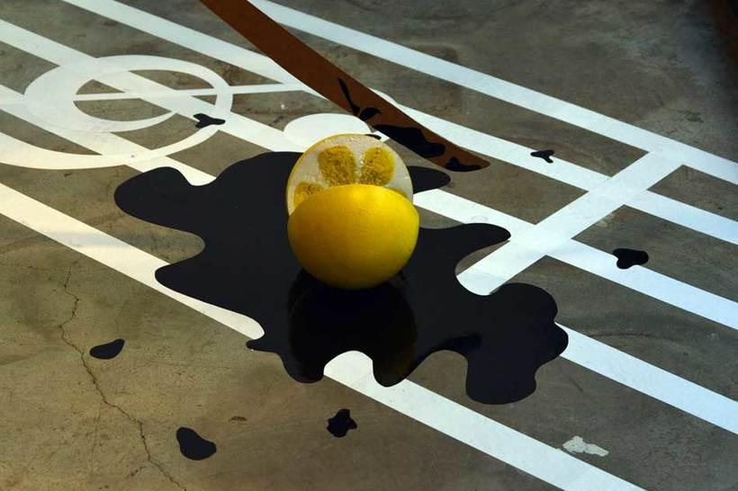 Escaparate Zergatik para el Zinemaldia 2015 inspiración Kill Bill 3