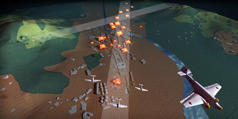 Ilustración - Bombardeo de Guernika -1