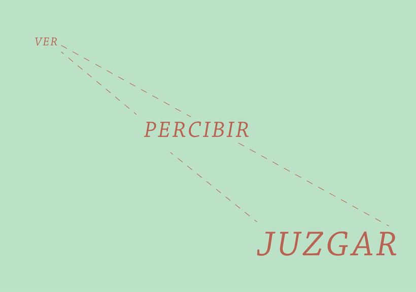 Ver, percibir, juzgar 1