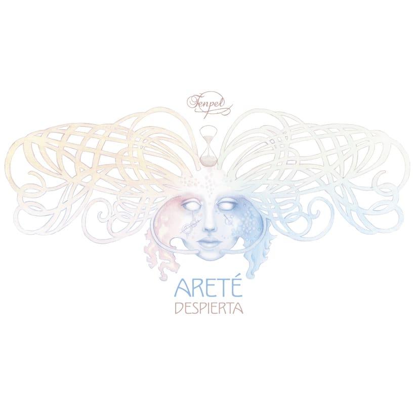 "Tenpel ""Areté, despierta"" rediseño CD 0"