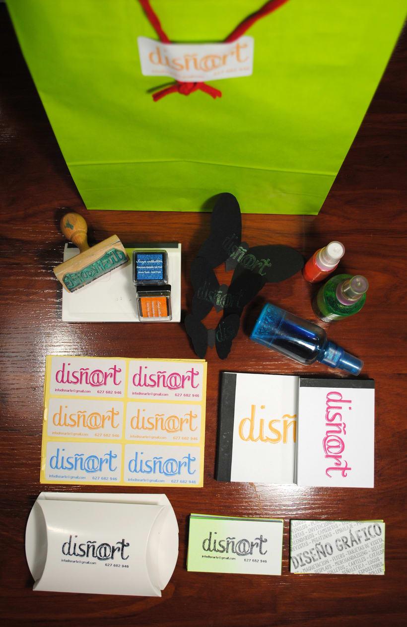 Mi Proyecto del curso Identidad visual handmade - Disñ@rt 0