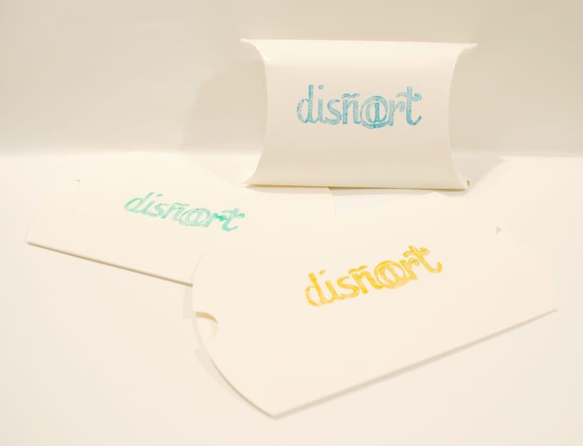 Mi Proyecto del curso Identidad visual handmade - Disñ@rt 9