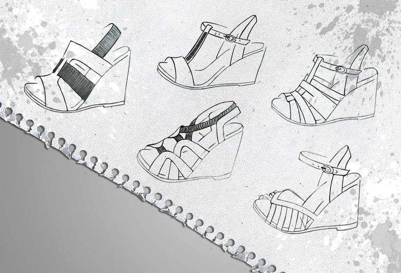 Dise o de calzado en wonders domestika for Diseno de zapatos