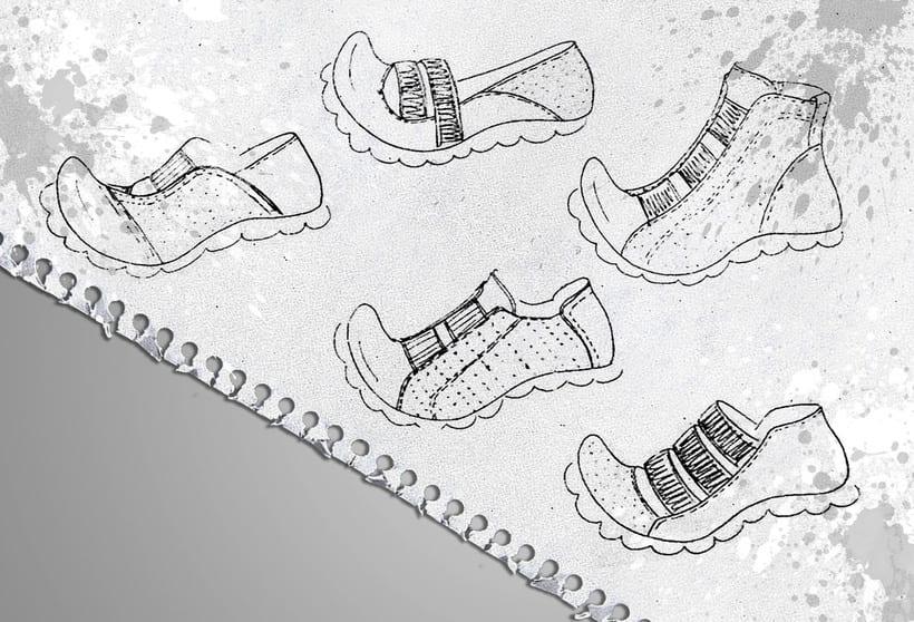 Diseño de calzado en WONDERS 1