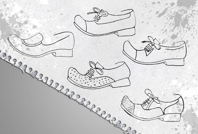 Diseño de calzado en WONDERS 4