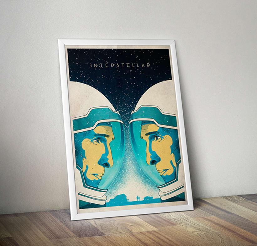 Interstellar Film Poster 2