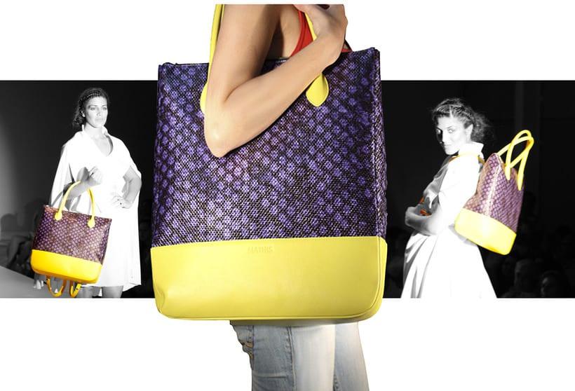 diseño de bolsos MATHIS 0