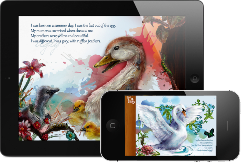 El Patito Feo - Digital Story Book 0