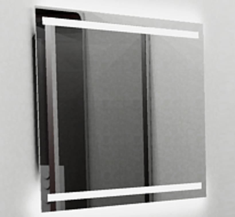 Espejo con luz -1