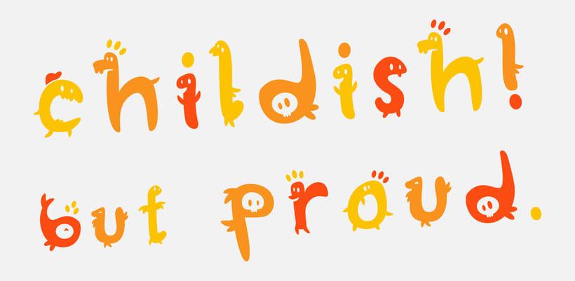 Glyphers - a playful new font 4