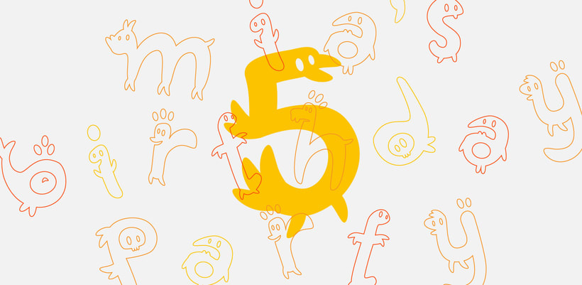 Glyphers - a playful new font 6