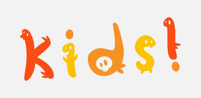 Glyphers - a playful new font 9