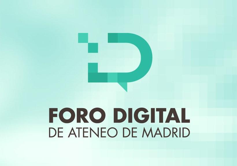 Foro Digital de Ateneo de Madrid // Branding 1
