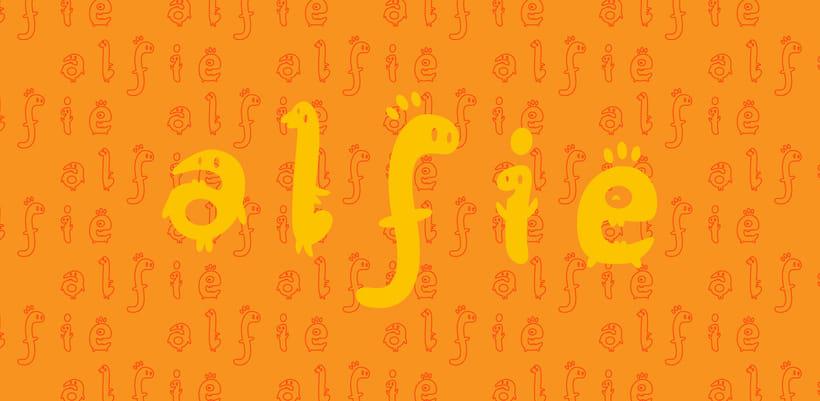 Glyphers - a playful new font 10