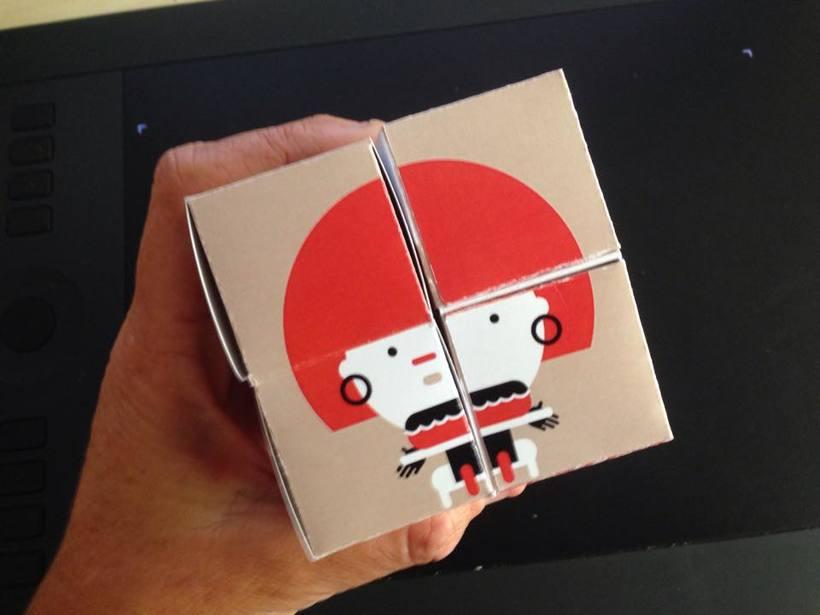 "Cubo Yoshimoto: ""Caperucita Roja"" 1"