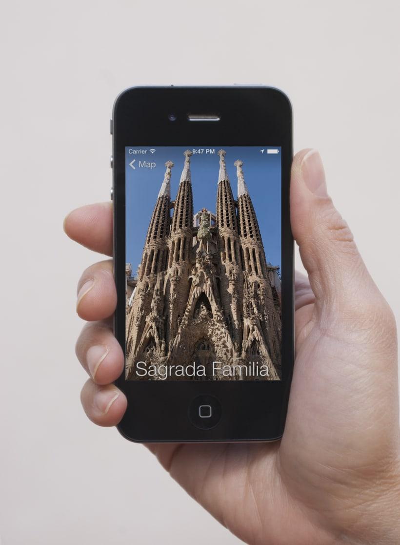Aplicación Barcelona Smart Guide 1