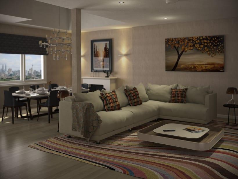 St. Pancras Penthouse 1