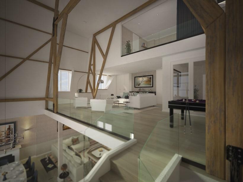 St. Pancras Penthouse 2