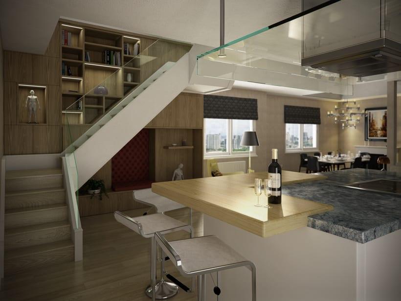 St. Pancras Penthouse 3