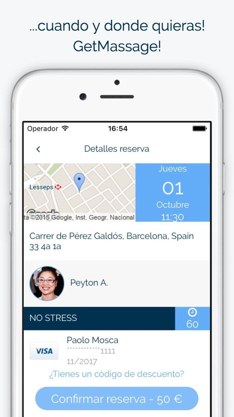 GetMassage App 2