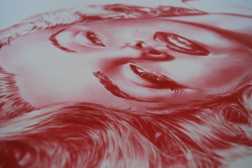 BOLI BIC - Obra: ayer&hoy  - Otra forma de ver la ilustración - 100x70 cm 2