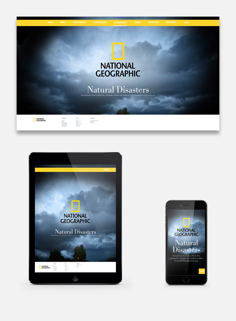 National Geographic - Natural Disaters (Concepto) -1