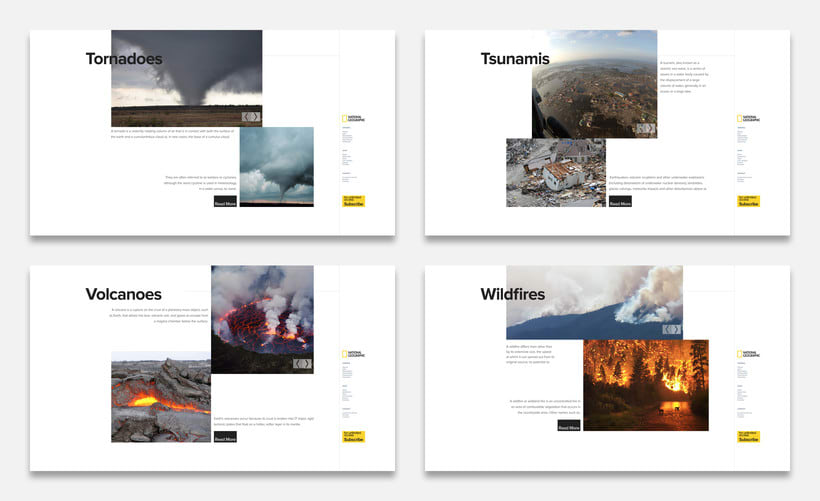 National Geographic - Natural Disaters (Concepto) 2