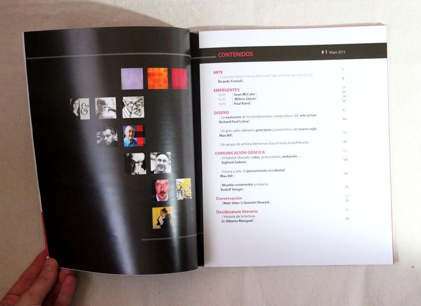 """Maquetación revista simulada""""Nuit""""  0"""