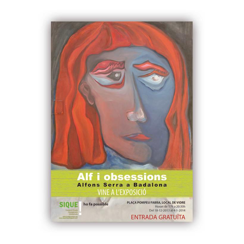 ALF I OBSESSIONS. EXPOSICIÓ DE PINTURA. 3