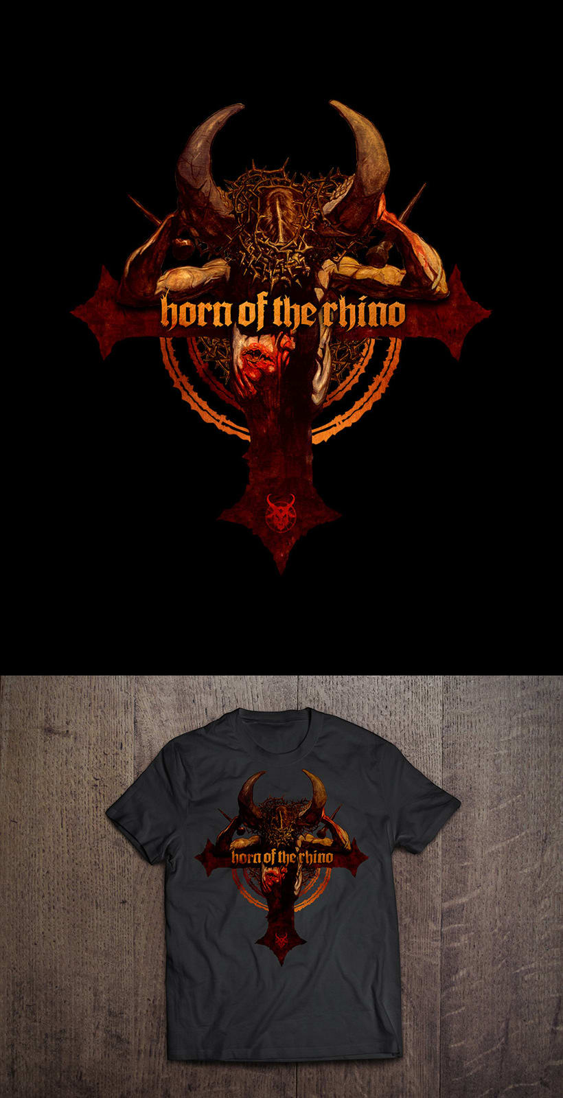 Camisetas Horn of the Rhino 1
