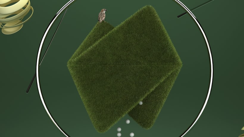 Play With My Logo II : Grass 2