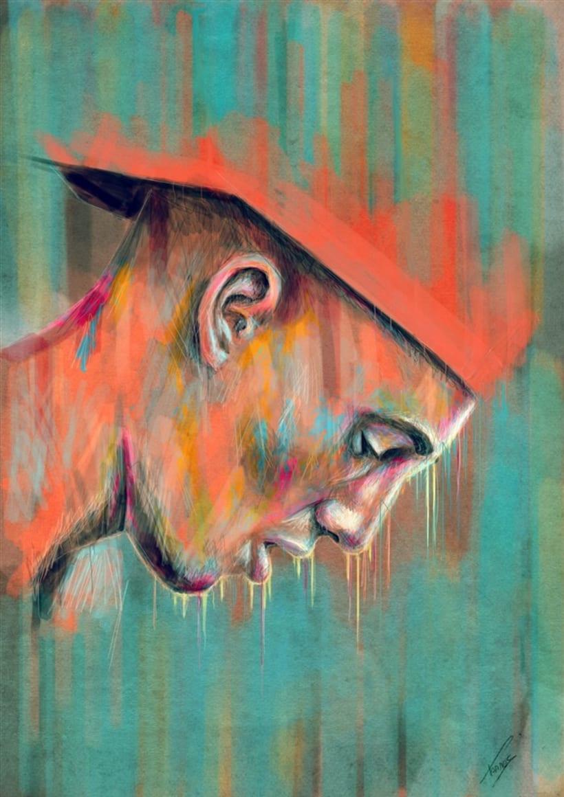 Sticky (Digital painting) -1