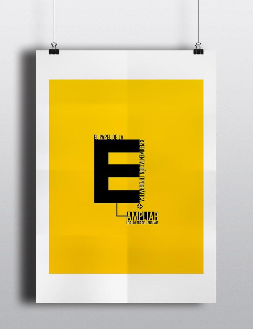 Experimentación tipográfica. 0