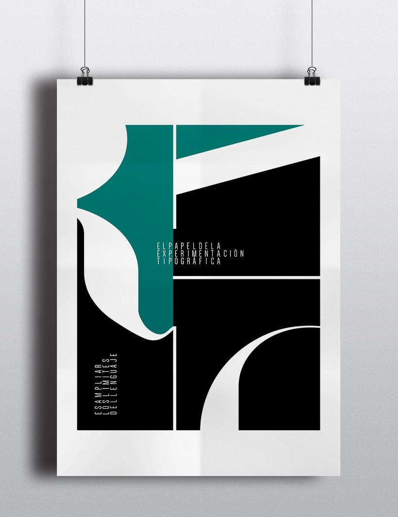 Experimentación tipográfica. 1