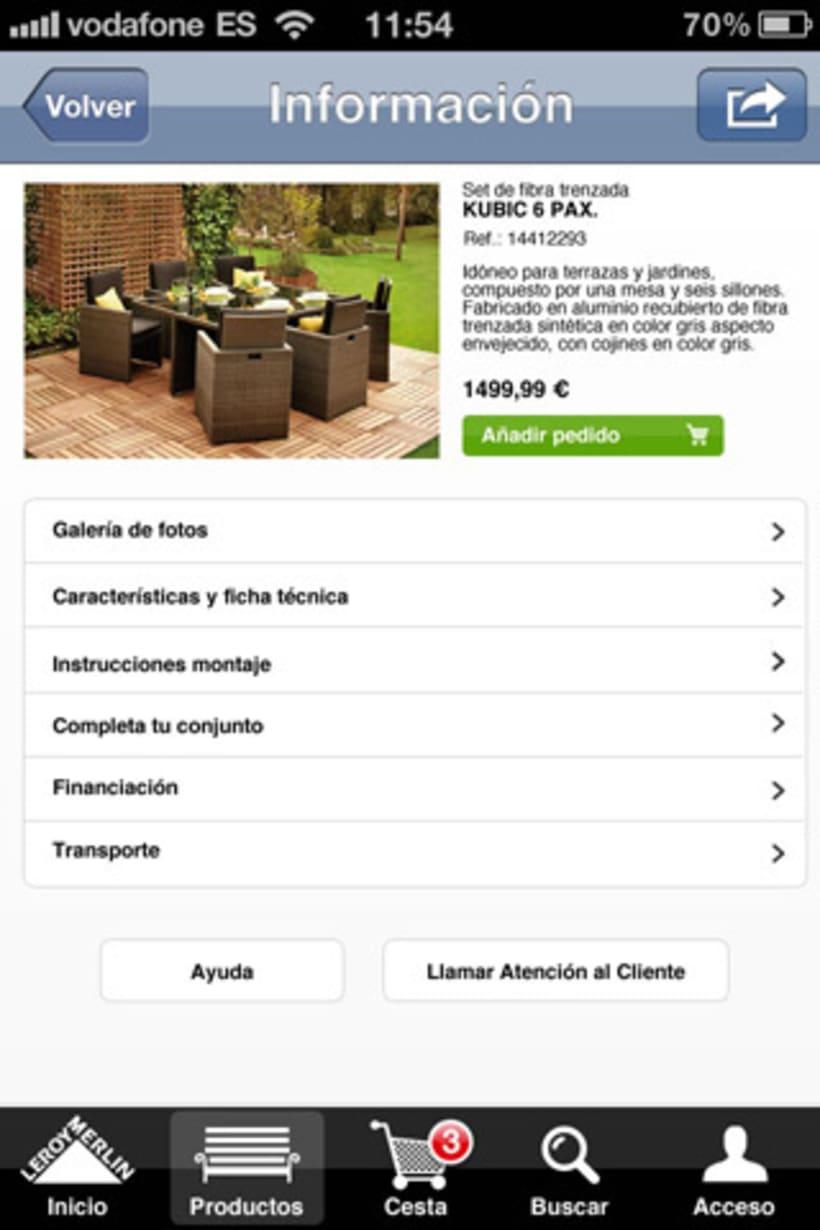 App Shop Leroy Merlin 5